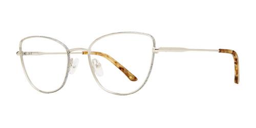 Silver Serafina Emerson Eyeglasses.
