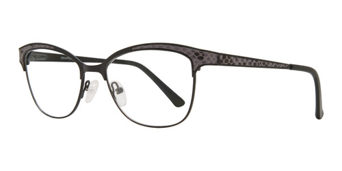 Black Serafina Molly Eyeglasses.