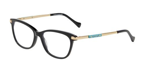 Black Lucky Brand VLBD231 Eyeglasses.