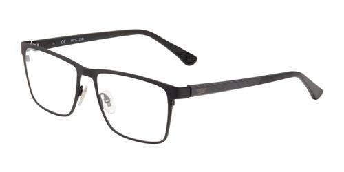 Black(0531) Police VPL958 Eyeglasses.