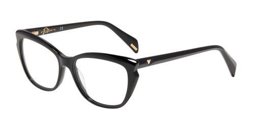 Black(0700) Police VPLA01 Eyeglasses.