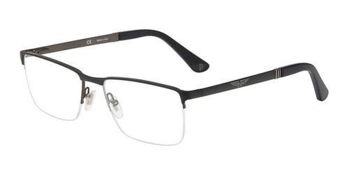 Matt Black(08H5) Police VPLA59 Eyeglasses.