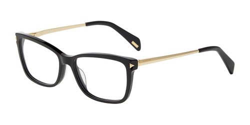 Black(0700) Police VPLA87 Eyeglasses.