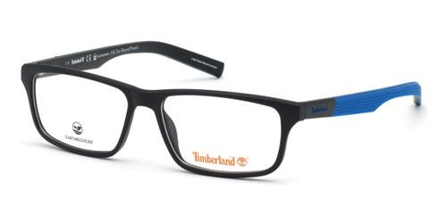 Matte Black Timberland TB1666 Eyeglasses