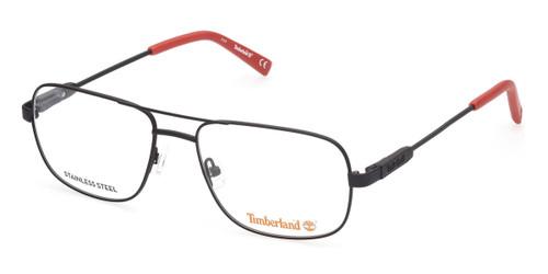 Matte Black Timberland TB1676 Eyeglasses