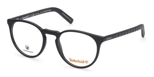 Matte Black Timberland TB1681 Eyeglasses