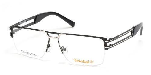 Matte Black Timberland TB1700 Eyeglasses