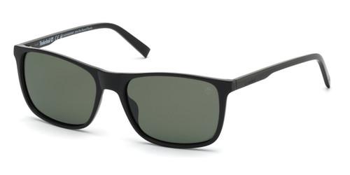 Shiny Black Timberland TB9195 Sunglasses
