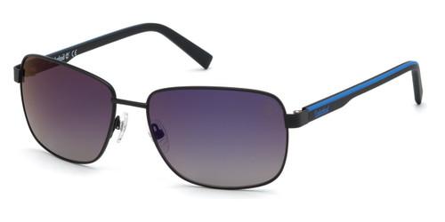 Matte Black Timberland TB9196 Sunglasses
