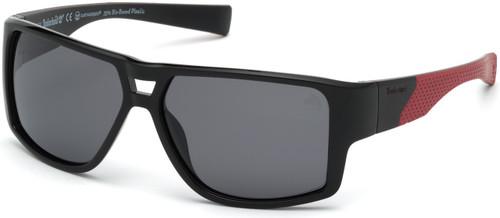 Shiny Black Timberland TB9204 Sunglasses