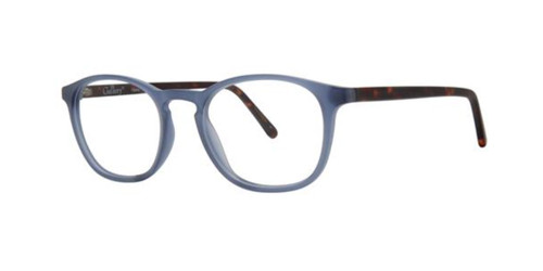 Matte Blue Gallery Cedric Eyeglasses.