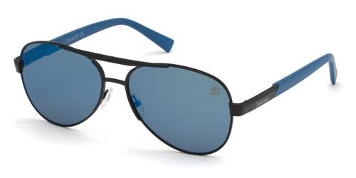 Matte Black Timberland TB9214 Sunglasses