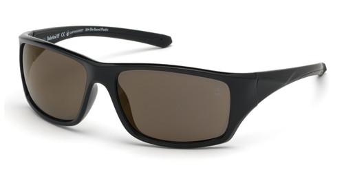 Shiny Black Timberland TB9217 Sunglasses