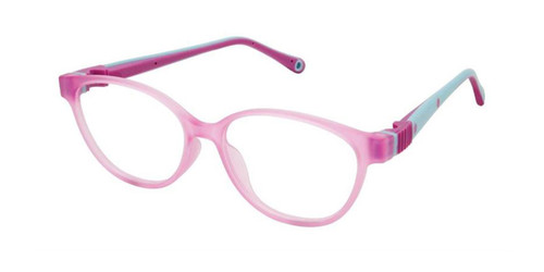 Purple W/Violet Life Italia NI-141 Eyeglasses - Teenager