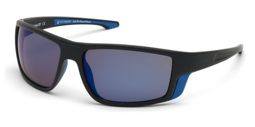Matte Black Timberland TB9218 Sunglasses