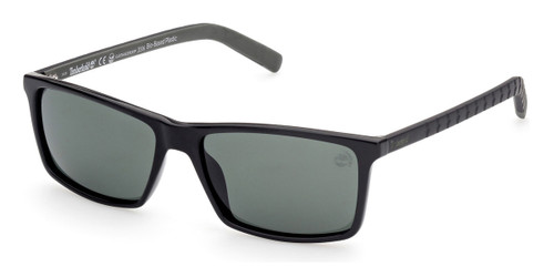Satin Matte Black Timberland TB9222 Sunglasses