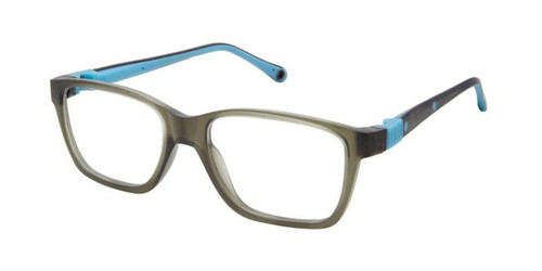 Grey Blue/Blue Life Italia NI-138 Eyeglasses - Teenager