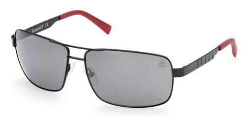 Satin Matte Black Timberland TB9225 Sunglasses
