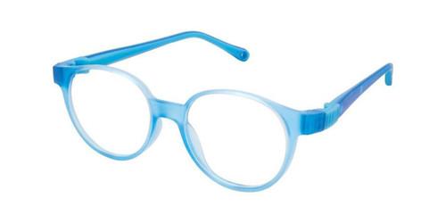 Royal Blue/Blue Life Italia NI-134 Eyeglasses.