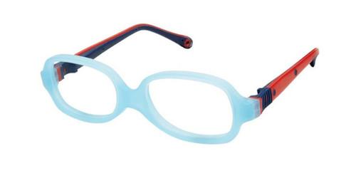 Aqua Red/Blue Life Italia NI-132 Eyeglasses.