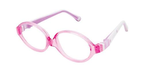 Pink W/Pink Life Italia NI-131 Eyeglasses.