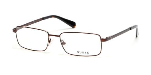 Matte Dark Brown Guess GU1970 Eyeglasses.