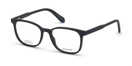 Matte Black Guess GU1974 Eyeglasses.