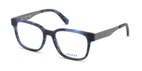 Blue Guess GU1996 Eyeglasses.