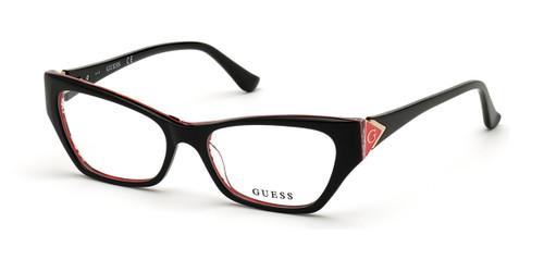Black/Other Guess GU2747 Eyeglasses.