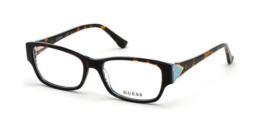 Dark Havana Guess GU2748 Eyeglasses.