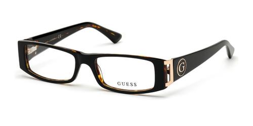 Black/Other Guess GU2749 Eyeglasses.