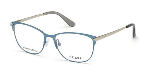 Matte Light Blue Guess GU2755 Eyeglasses.