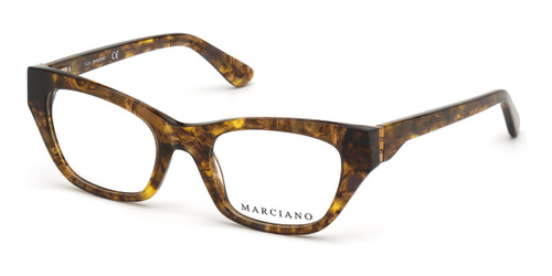 Dark Brown/Other Marciano GM0361-S Eyeglasses.