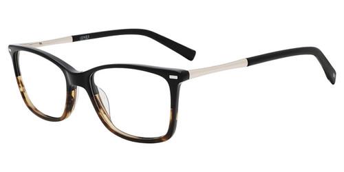 Black/Brown Gradient Jones New York Petite J244 Eyeglasses - Teenager.