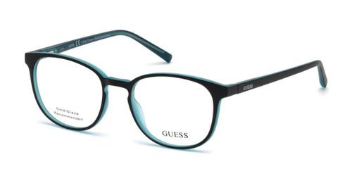 Black/other Guess GU3009 Eyeglasses.