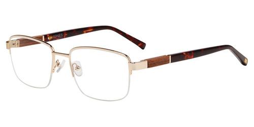 Brown Jones New York J367 Eyeglasses.