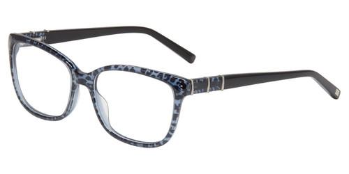Blue Leopard Jones New York J779 Eyeglasses.