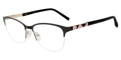 Black Jones New York VJON496 Eyeglasses.
