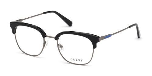 Shiny Black Guess GU50006 Eyeglasses