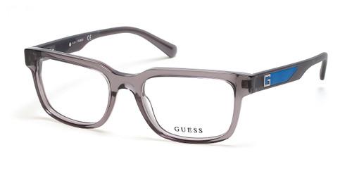 Grey/other Guess GU50016 Eyeglasses.