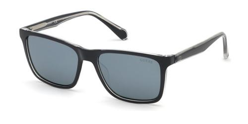 Black/Smoke Mirror Lenses Guess GU6935 Sunglasses.