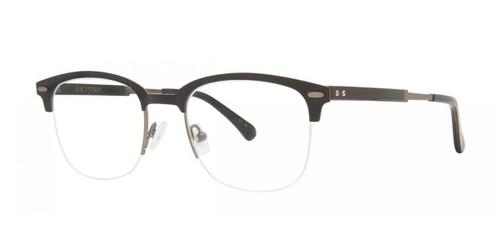 Matte Black Zac Posen Hugh Eyeglasses