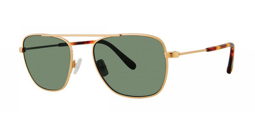 Gold Zac Posen Estrada Sunglasses