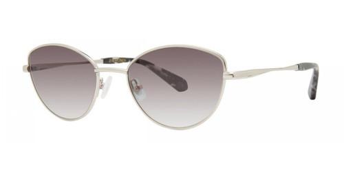Silver Zac Posen Lucille Sunglasses