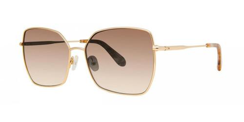 Gold Zac Posen Clair Sunglasses