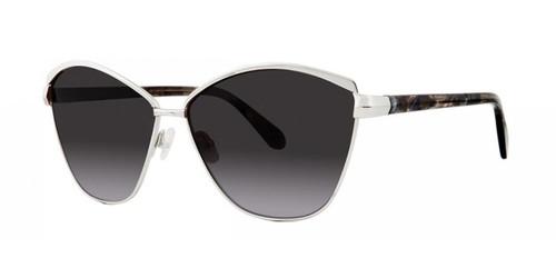 Silver Zac Posen Vanina Sunglasses