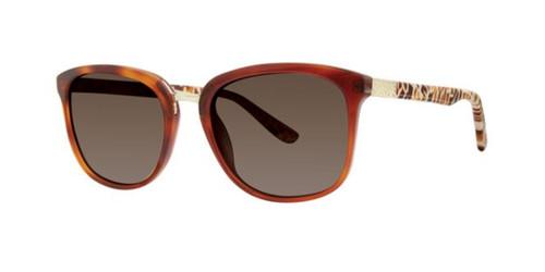 Caramel Feather Kensie Make Me Blush Sunglasses.