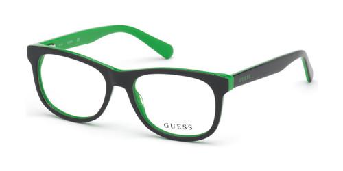 Grey/other Guess GU9195 Eyeglasses - Teenager