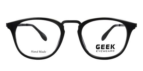 Black GEEK STARSHIP Eyeglasses - Teenager.