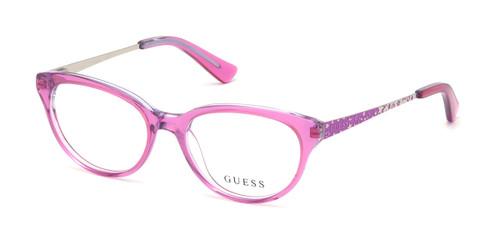 Shiny Violet Guess GU9185 Eyeglasses